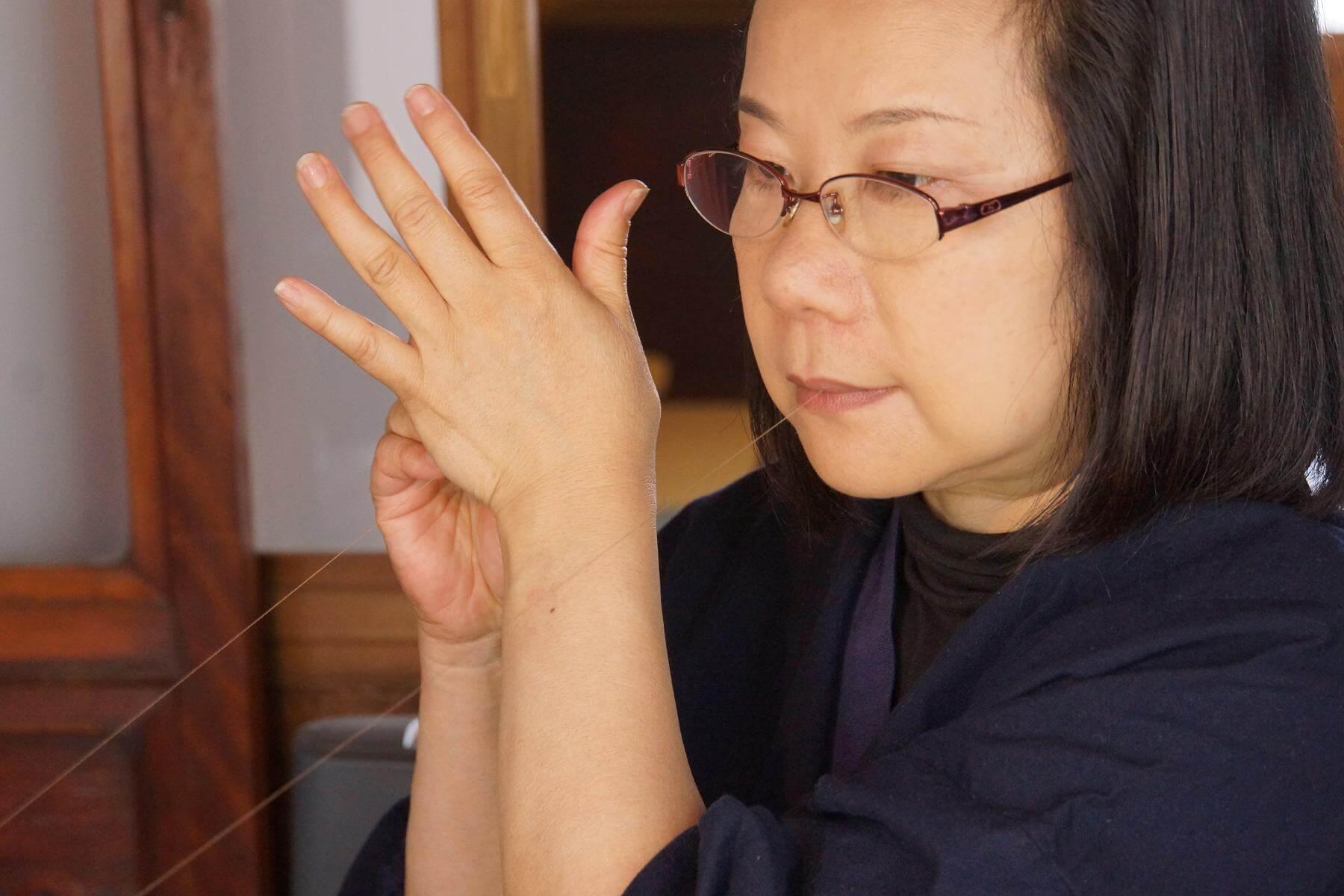 日本刺繍作家 笹原木実